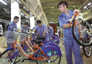 公共自行车出现三个最突出问题