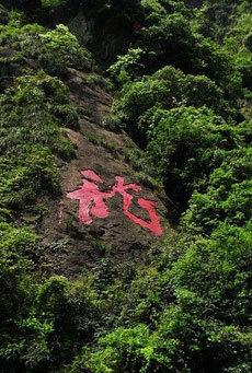 带上家人去五龙潭登山玩水