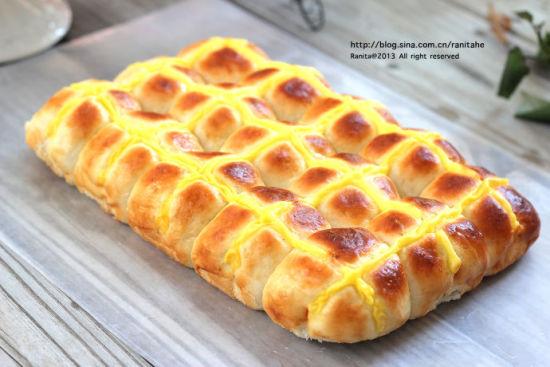面包中的步骤)