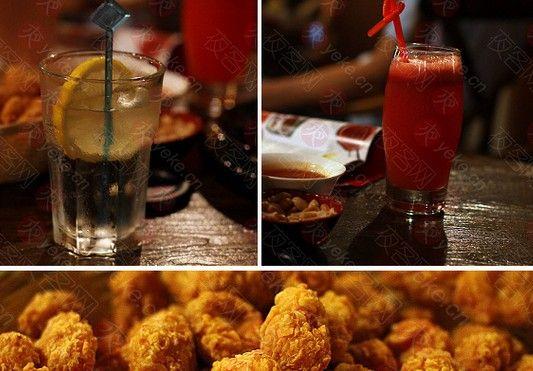 饮料和小食