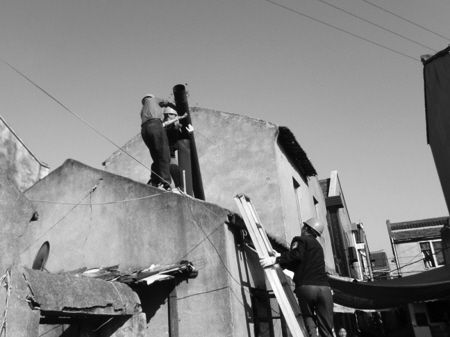 图文:北仑拆除非法小锅炉20多台