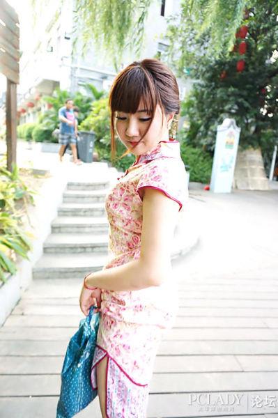 旗袍美女展淑女风范寻找广州最后的一抹婉约