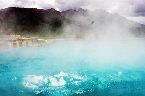 拉萨泡温泉
