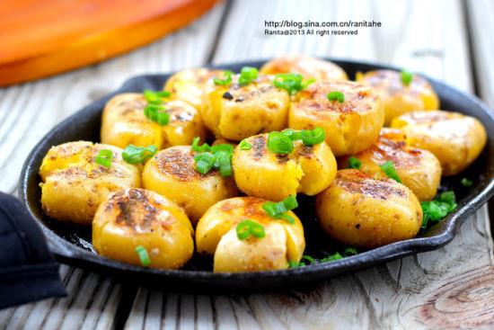 铁板小土豆