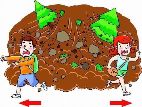 泥石流、山体滑坡