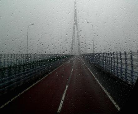 雨中象山大桥