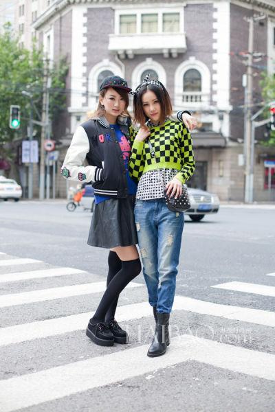街头潮装玩味搭型人演绎C&A系列时尚女装