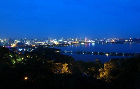 组图:慢享杭城宁静喧嚣中领略最美夜景
