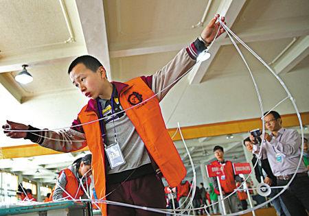 宁波市头脑QM校间挑战赛举行