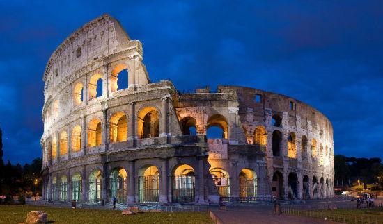 3) 假日在继续 - 罗马
