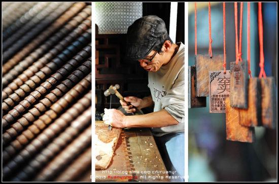 探访大隐同里的木匠潘刀斧间雕刻江南古镇