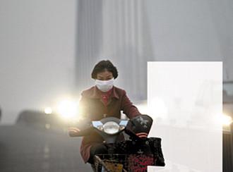 宁波雾霾,甬城首个霾橙色预警,PM2.5一度飚至738