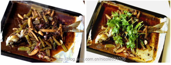 豆豉烤鱼材料做法