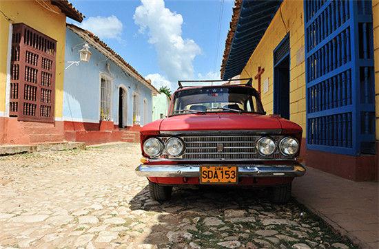 古巴特立尼达岛500岁生日