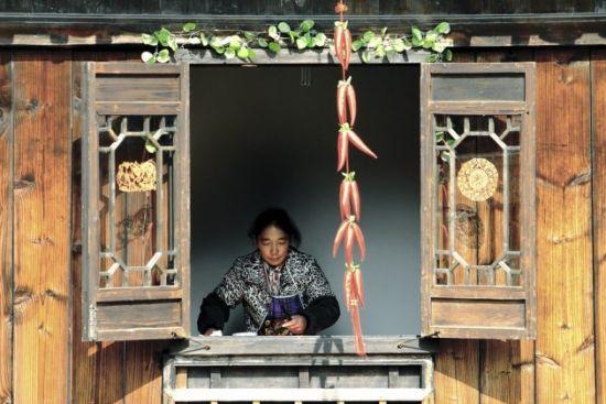 组图:去乌镇过个中国年体验长街宴的水乡情怀