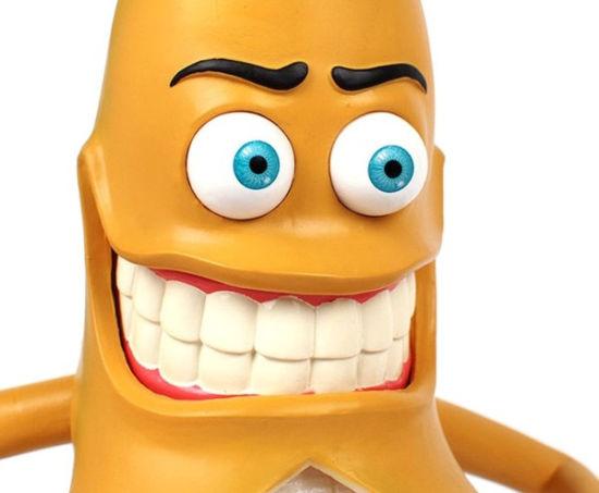 邪恶香蕉动画手机壁纸