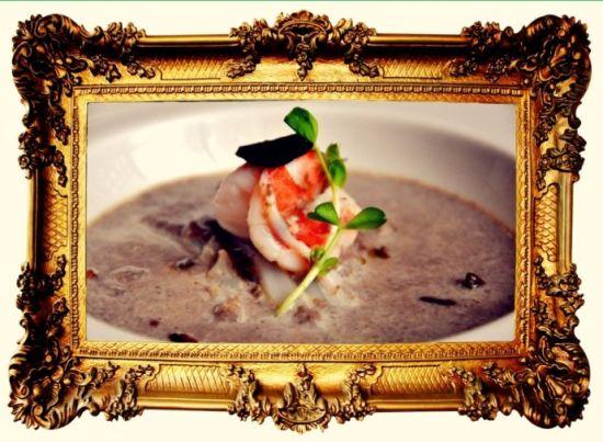 海鲜蘑菇浓汤