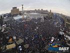 乌克兰首都20万人举行大规模集会抗议