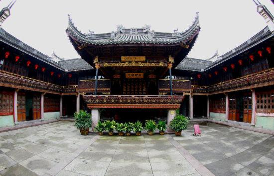 秦氏支祠之戏台