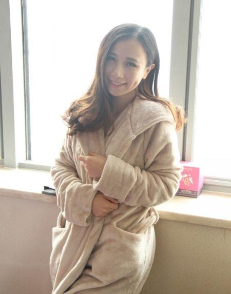 睡衣绒外套