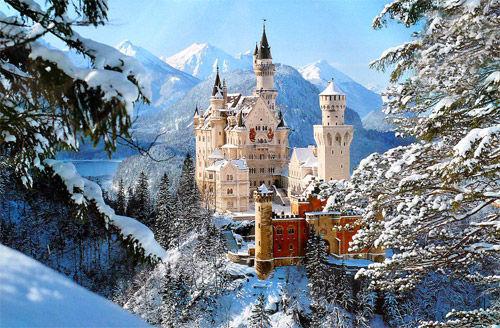 新天鹅堡是茜茜公主与巴伐利亚国王爱的象征?