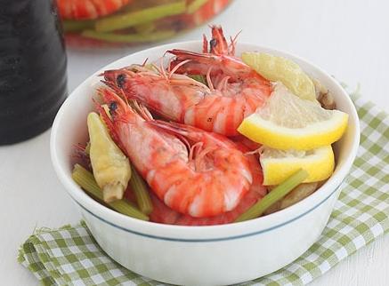 柠香泡椒虾