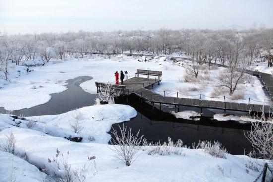 冬季走进五大连池