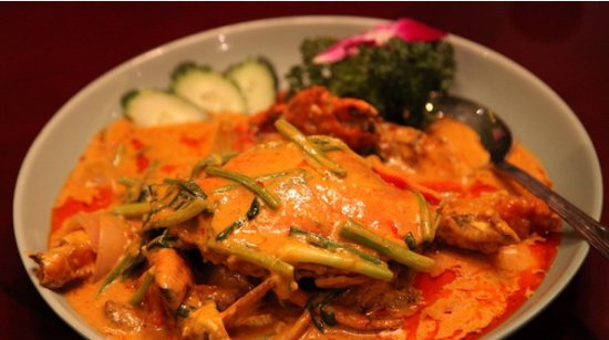 招牌咖喱蟹