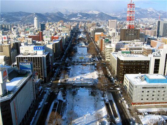 组图:银装素裹冬季北海道冬日里最美的画卷