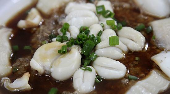 梅干菜蛏子