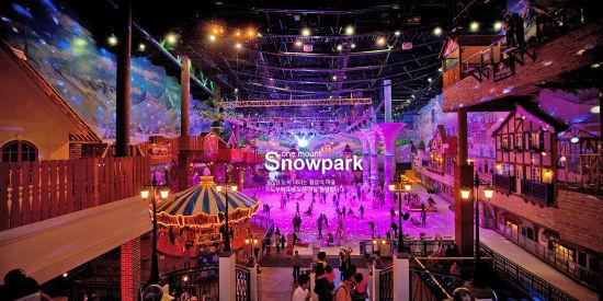 冬季带宝贝去韩国市内冰雪乐园推荐