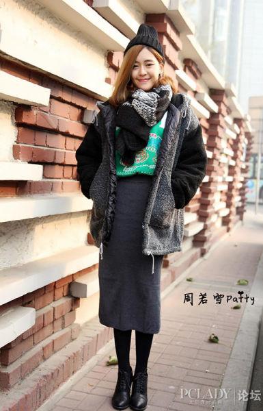 冬季保暖必备单品乱穿衣也要穿出独特风格