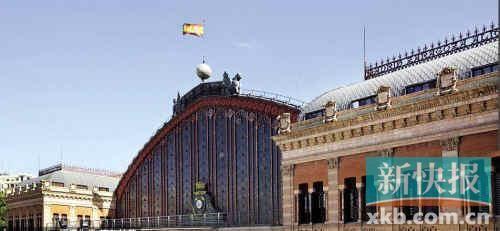 西班牙阿托查火车站