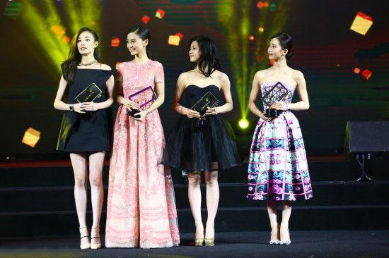 倪妮陈妍希领衔年度微博4大女神身材大比拼