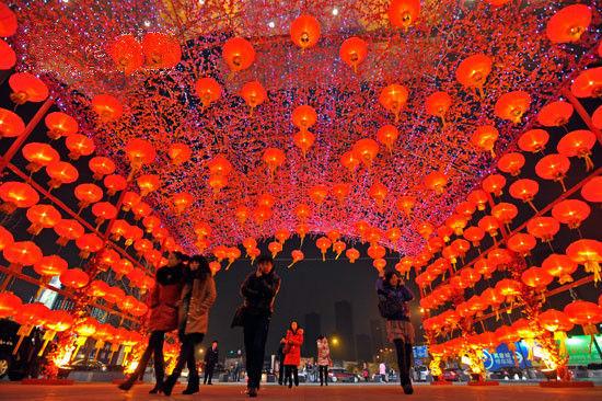 伴随着年味 浙江各地的庆新年的活动也别有看点