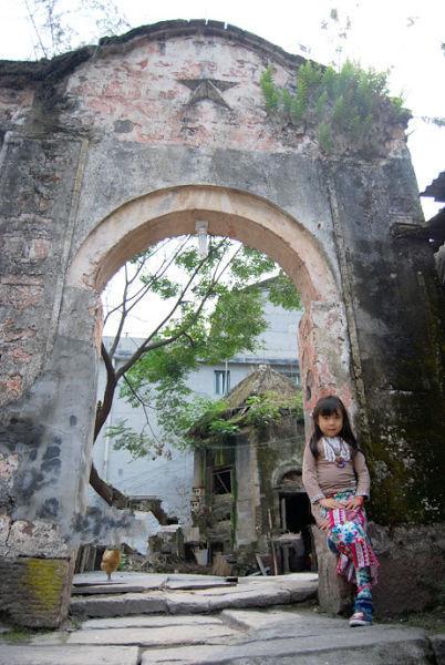 古旧的老建筑