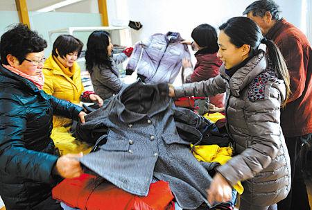 江东区衣循环公益项目昨启动