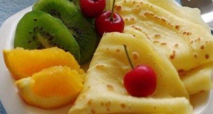 橙香鸡蛋软饼