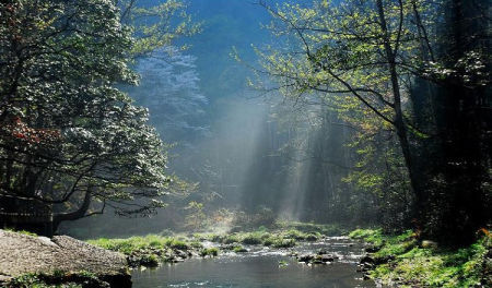 探险湖南跋山涉水尽享自然之美(组图)