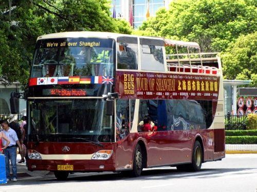 尽赏车窗外美景国内4处必搭的城市观光巴士