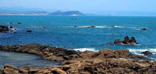 组图:冬天看海也温暖漳州海岛览瑰丽美景