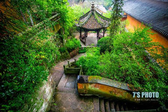 幽静的寺庙