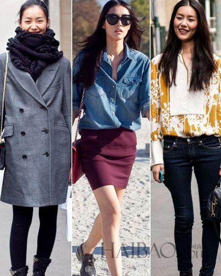 中国超模刘雯展风姿高街风格的着装好感度大增