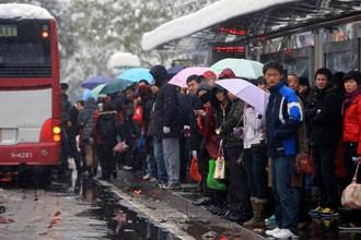 汽车站部分班车,取消或延误
