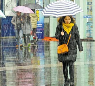 昨天宁波全市,大范围降雪