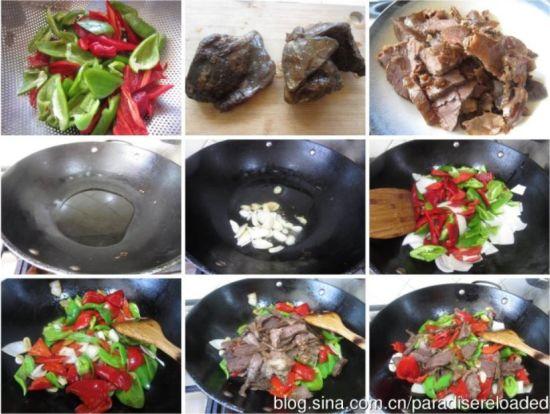 零厨艺也能制作简单又好吃的回锅牛肉(组图)