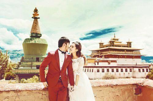 追逐爱情的脚步旅行西藏蜜月婚纱拍摄地推荐