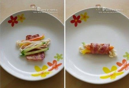 美食简笔画步骤