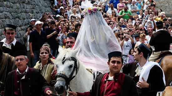 嘉里什尼克婚礼 马其顿