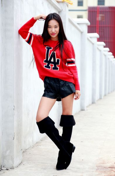 欧美范街拍时装冬季温暖心的时尚搭配